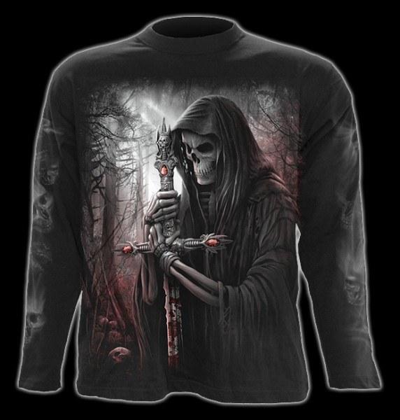Langarmshirt Gothic Reaper - Soul Searcher
