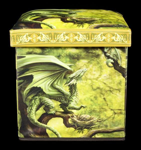 Aufbewahrungshocker Walddrache - Forest Dragon