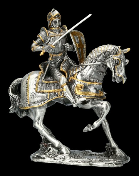 Knight with Sword on Horse