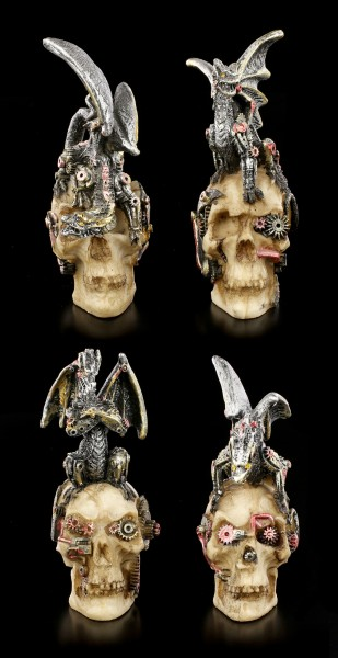 Dragon Figurines - Mind Machines - Set of 4