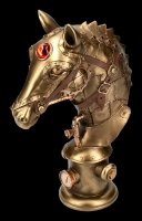 Steampunk Horse Bust - Equus Machina
