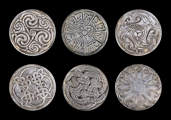 Keltische Untersetzer - 6er Set