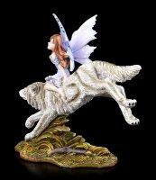 Elfen Figur - Wolf Rider