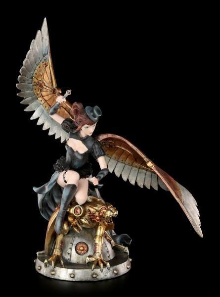 Steampunk Figur - Lady Engel mit Panther