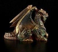 Steampunk Drachen Figur