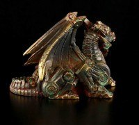 Steampunk Dragon Figurine