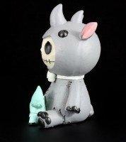 Große Furry Bones Figur - Rhino