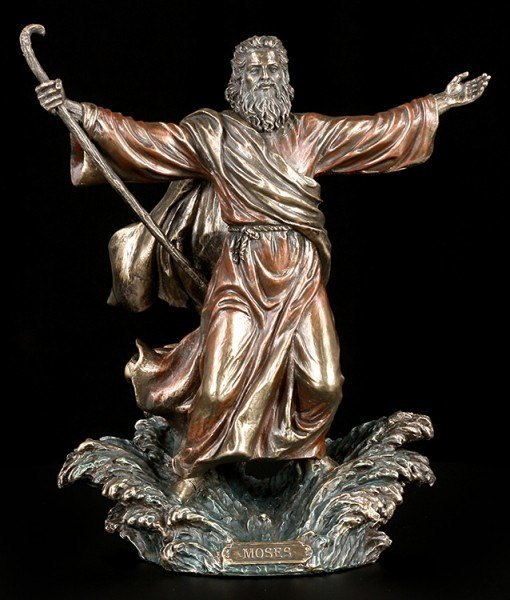 Moses Figur - Teilt das rote Meer