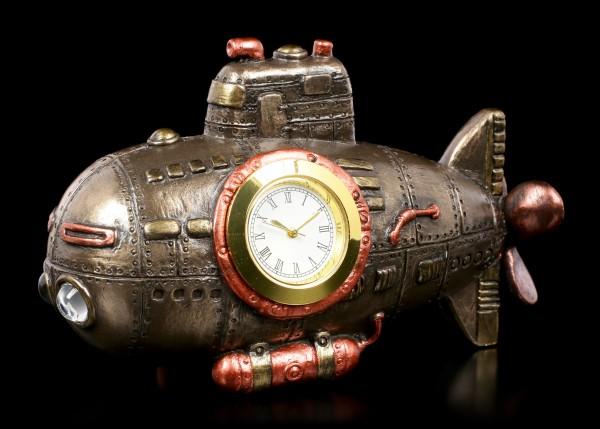 Steampunk Tischuhr - U-Boot