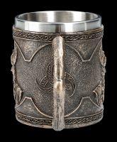 Viking Tankard - Odin with Eye Patch