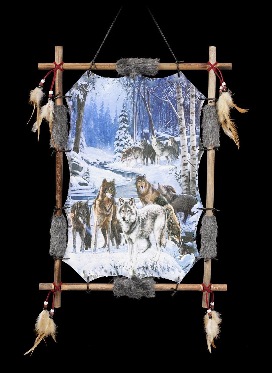 Wandbild Wolfsrudel - Alphas Alliance