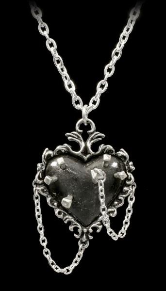 Alchemy Hexen Herz Halskette - Witches Heart