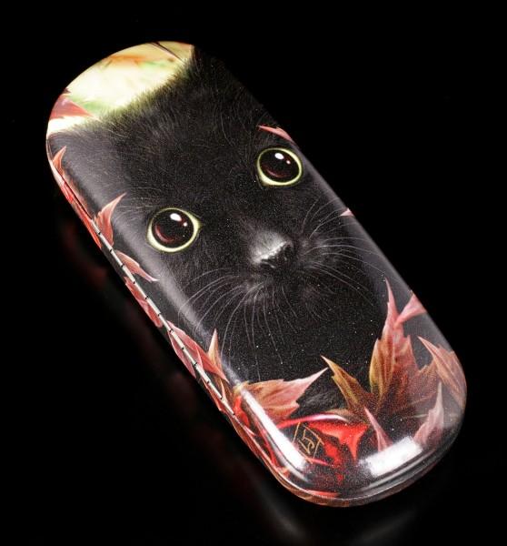 Glasses Case with Cat - Autumn Cat