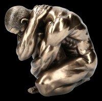 Male Nude Figurine - Oliver Cowering - medium