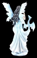 Fairy Figurine with Dragon - Neva