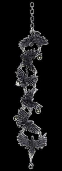 Alchemy Raben Armschmuck - Flocking Raven