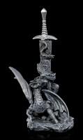 Letter Opener Dragon - Sword of Alastar - black