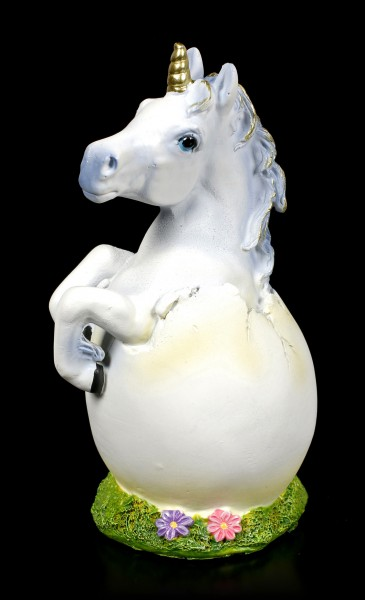 Unicorn Figurine hatches from Egg