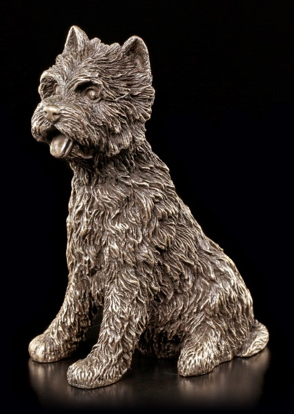 Hunde Figur - West Highland Terrier Hündin