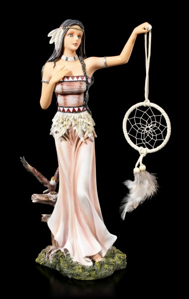 Indian Girl Figurine - Flight of Dreams