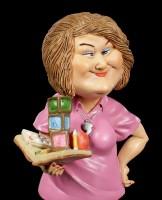 Funny Job Figur - Kindergärtnerin mit Spielzeug