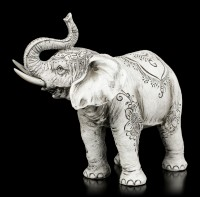 Indian Henna Elephant Figurine