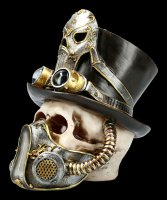 Steampunk Totenkopf - Breath Easy