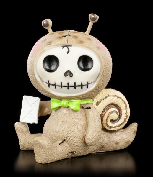 Furry Bones Figurine - Snail