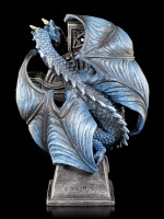 Dragon Table Clock - Draco Clock