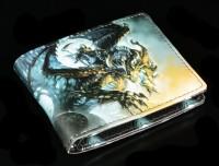 Herren Geldbeutel mit Reaper - Wings of Death