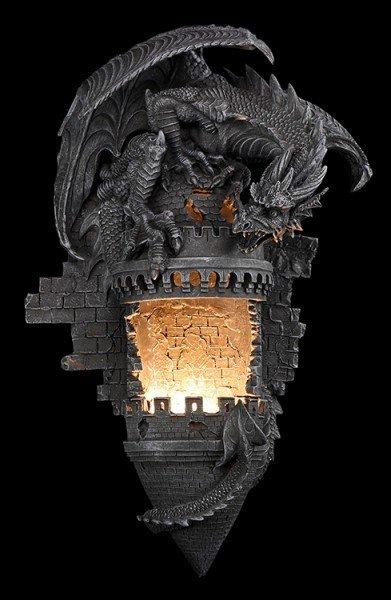 Drachen Wandleuchte - Dragon Dominion