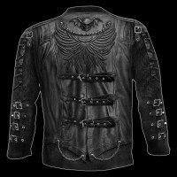 Langarmshirt Gothic - Goth Wrap