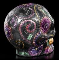 Mexican Skull - Black Blossom