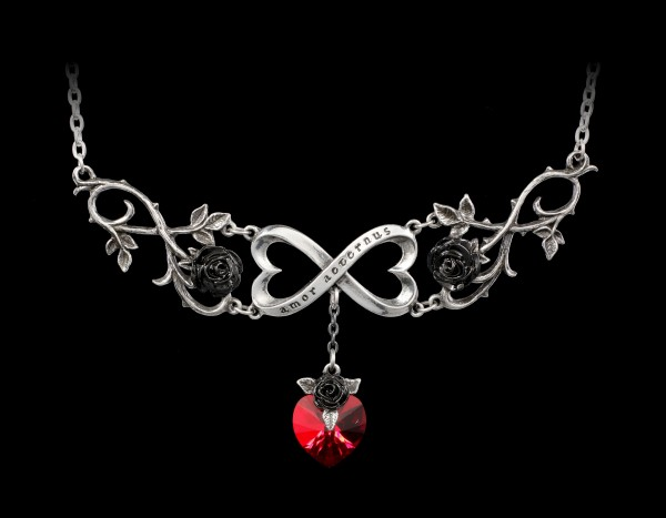 Alchemy Heart Necklace - Infinite Love