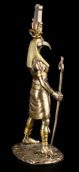 Egypt God Thoth Figurine - bronze