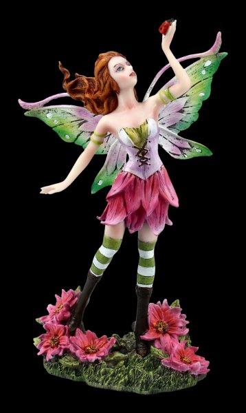 Fairy Figurine - Nerfei with Ladybug
