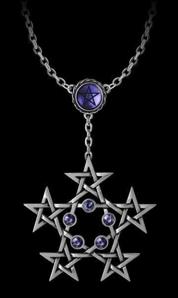Alchemy Pentagram Necklace - PentaGramatron