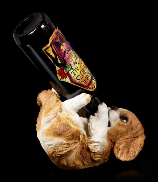 Flaschenhalter - King Charles Cavalier