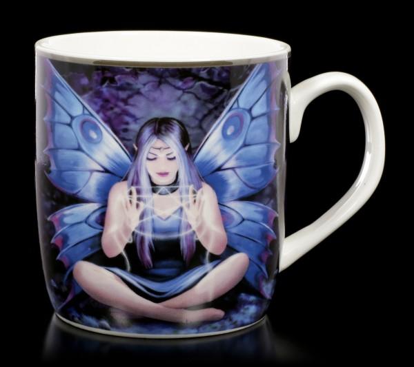 Keramik Tasse mit Elfe - Spell Weaver