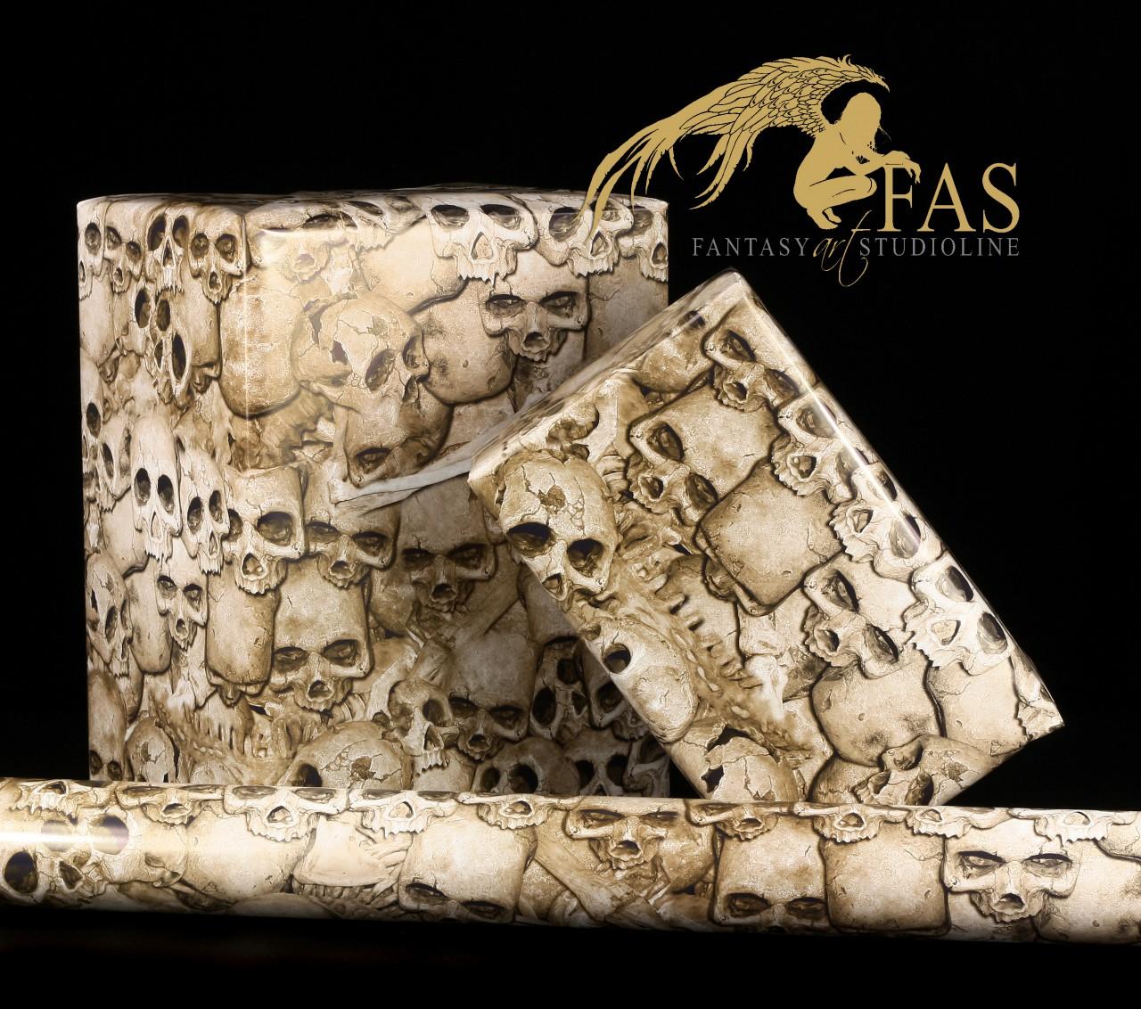 Fantasy Gift Wrap - Cheap Bones