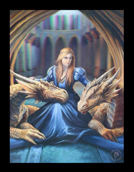 3D Picture with Dragons - Fierce Loyalty