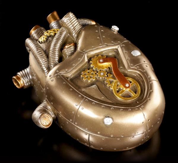 Steampunk Schatulle - Heart of Science