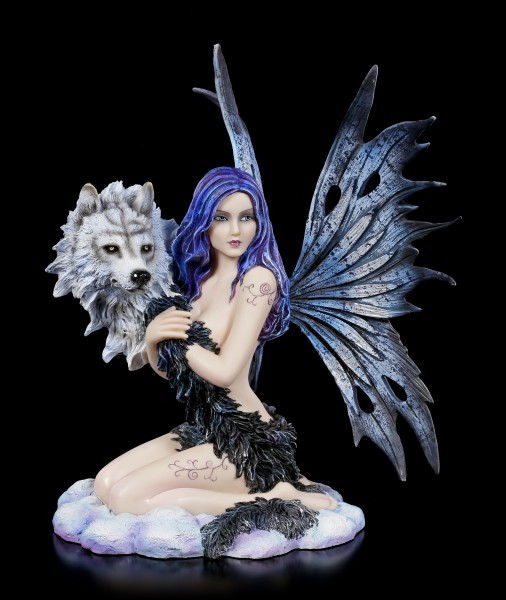 Fairy Figurine - Wolf Spirit