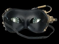 Steampunk Maske - Mechanical Wheels