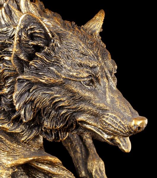 Wolfskopf Büste