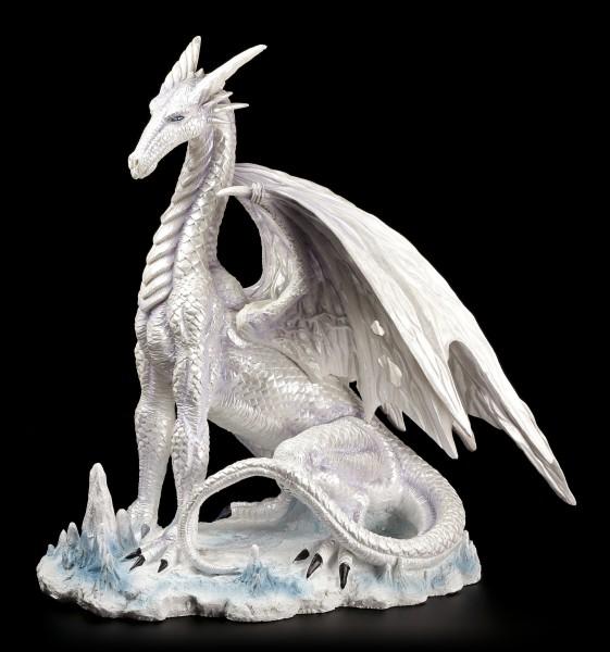 Drachen Figur - Der große Weiße