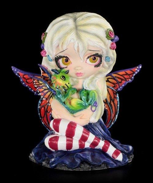 Elfen Figur mit Drache - Darling Dragonling - limitiert