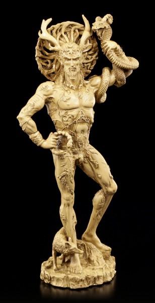 Cernunnos Figur - Keltischer Gott der Tiere & Fruchtbarkeit