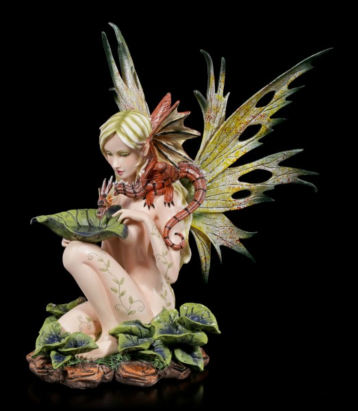 Fairy Figure - Lauriel with Dragon