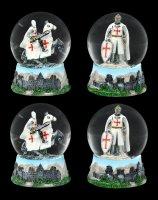 Snow Globe - Crusader - Set of 4
